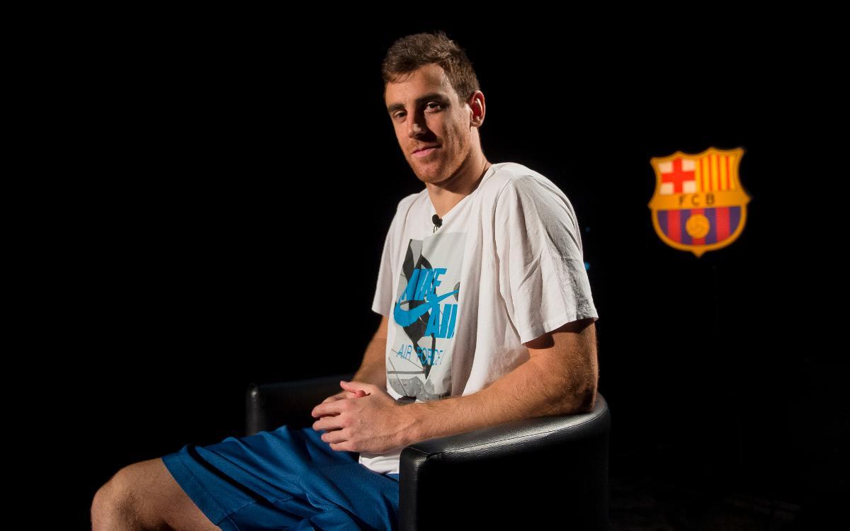 EN DIRECTO - Presentación de Victor Claver como nuevo jugador del Barça Lassa