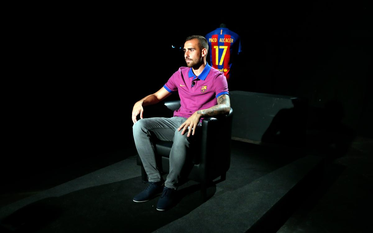 Paco Alcácer: It is important for me to get off the mark