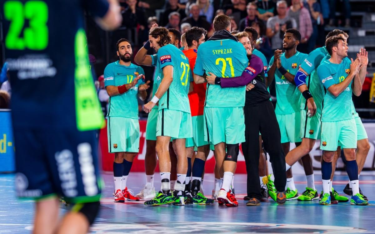 SG Flensburg-Handewitt v FC Barcelona Lassa: Three from three (27-28)