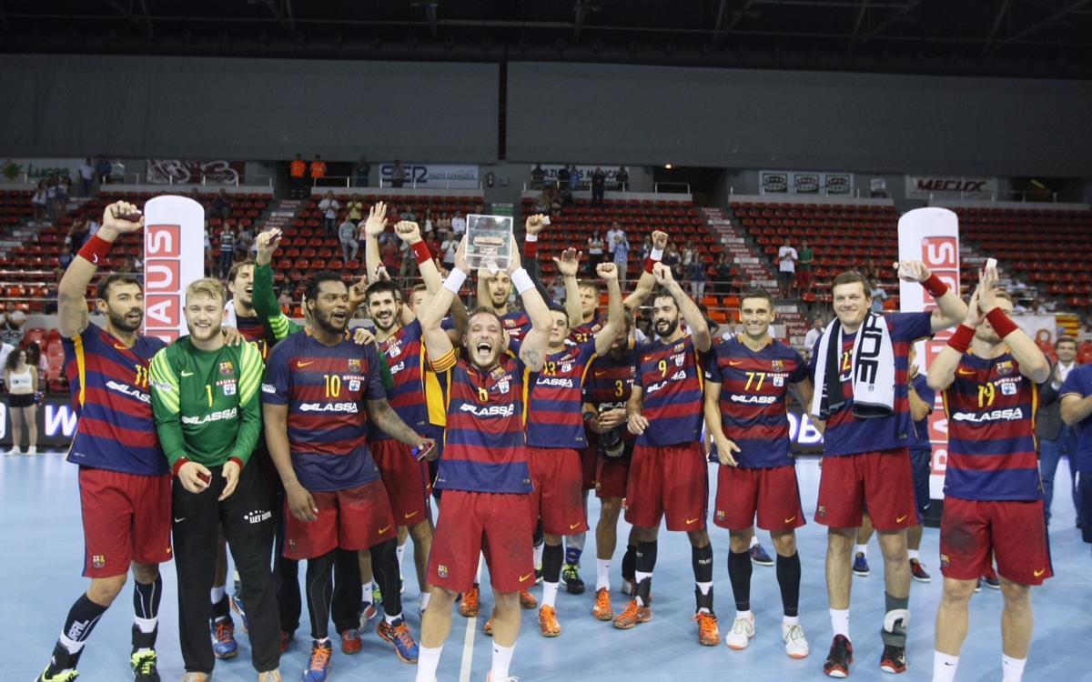 El Barça d'handbol i la Supercopa Asobal