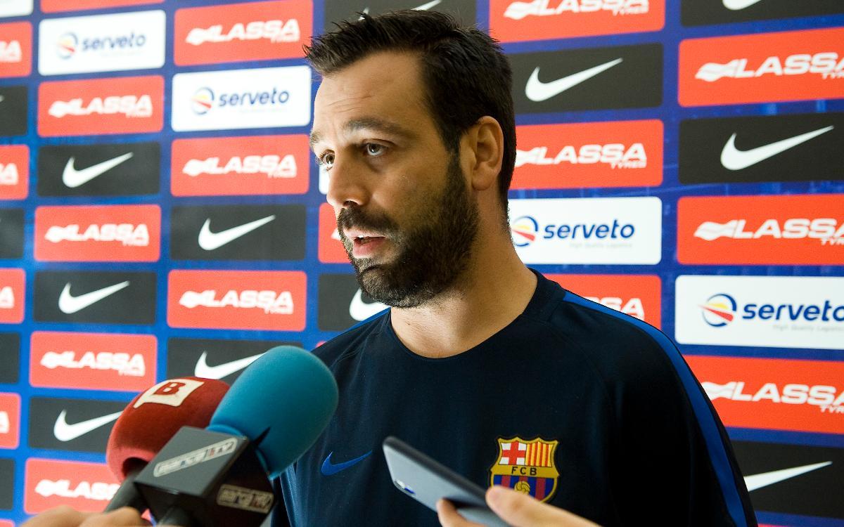 """Ricard Muñoz: """"La Supercopa és un torneig molt igualat"""""""