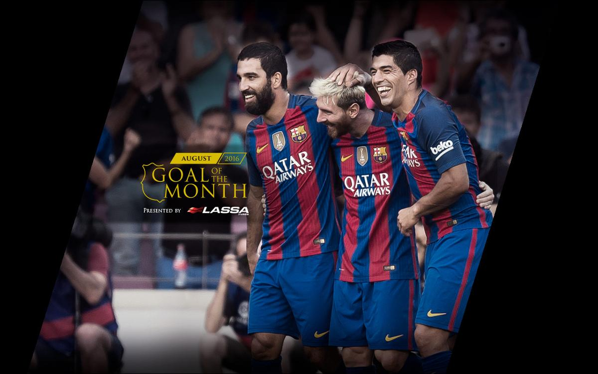 The best goal of August