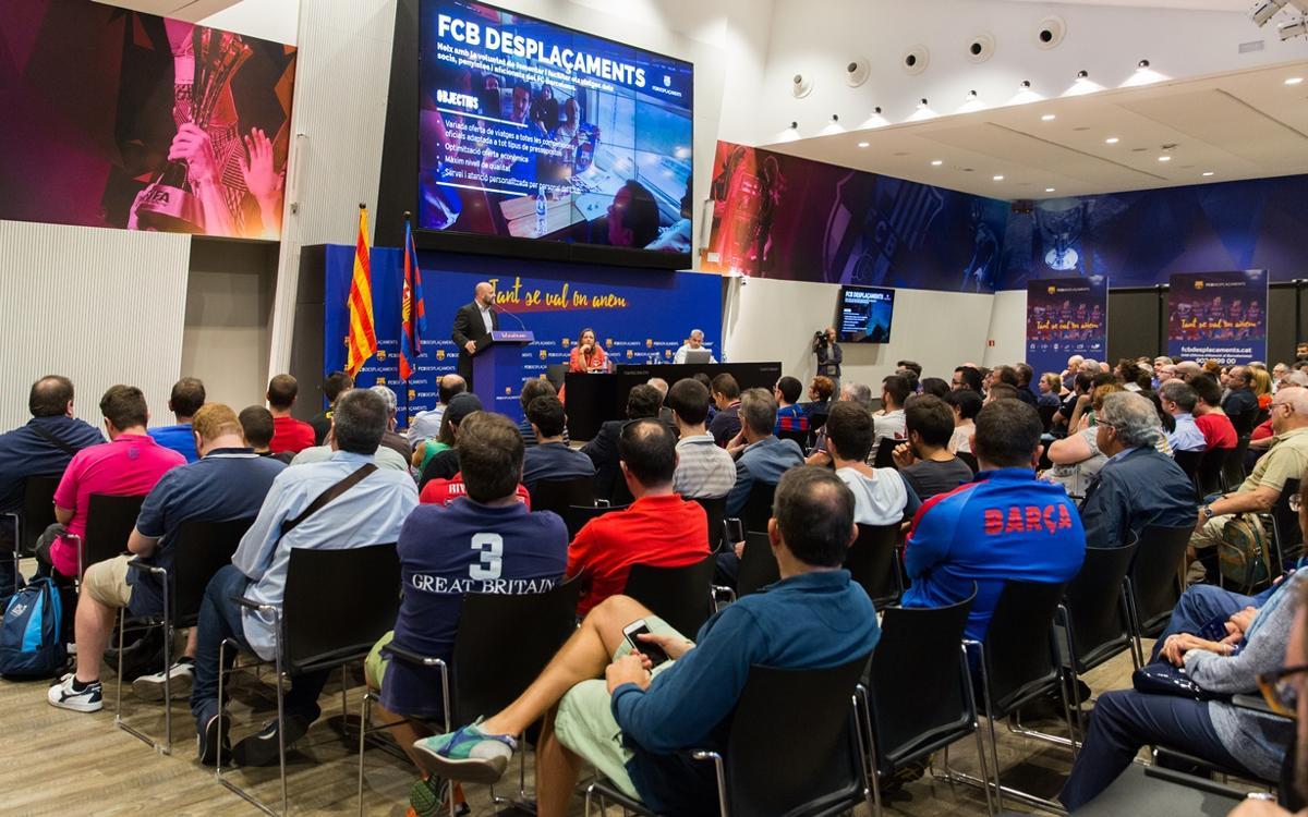 FCBDesplaçaments presenta als socis una atractiva proposta de viatges