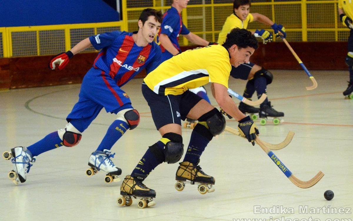 El Barça Lassa B, tercer clasificado en el torneo del Jolaseta