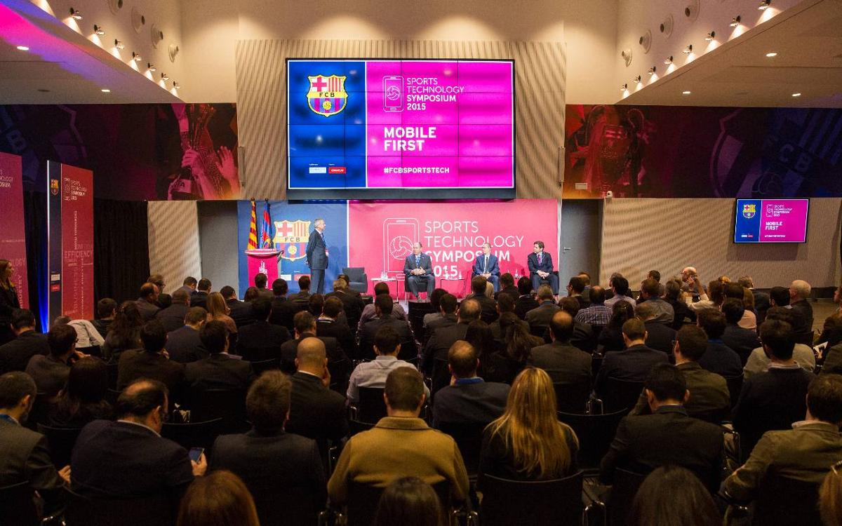 Guests at 2015 Sports Technology Symposium hosted by FC Barcelona praise experience