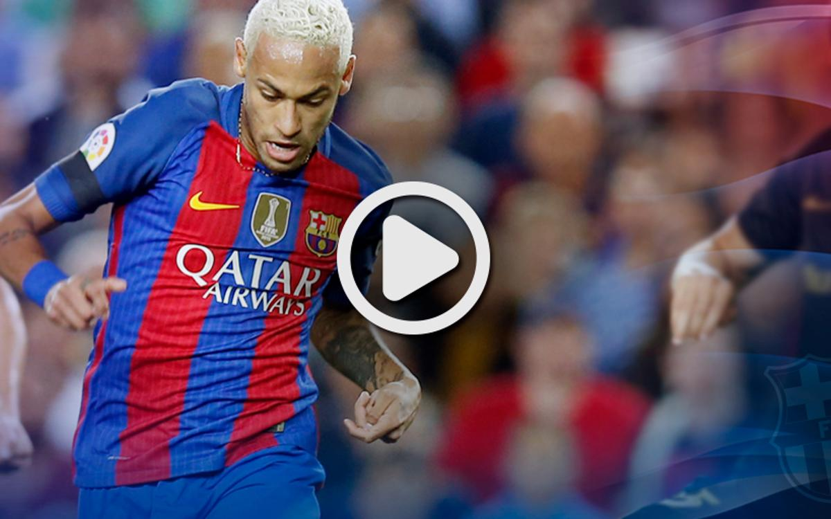 League video highlights: FC Barcelona - Atlético Madrid