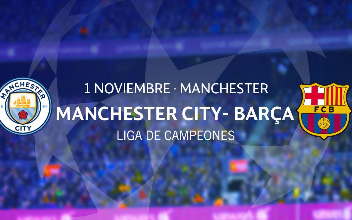 Solicitud de entradas para el partido en el estadio del Manchester City