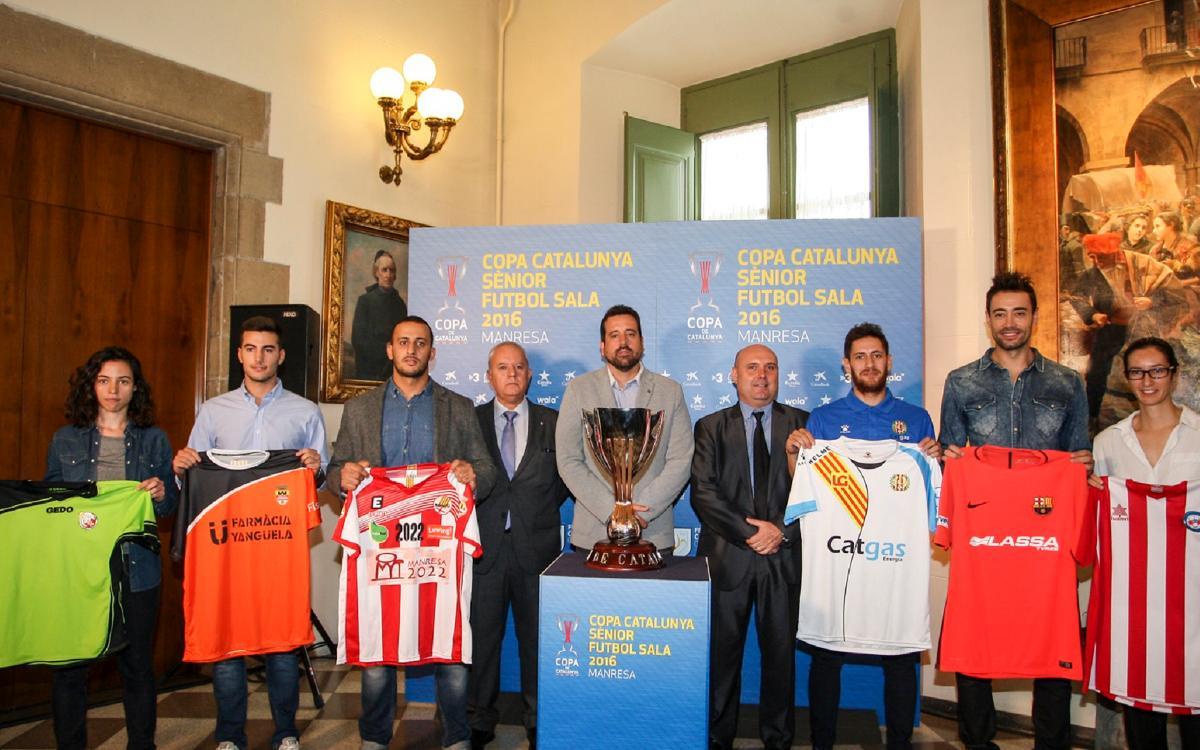 Paco Sedano, en la presentación de la Copa Catalunya