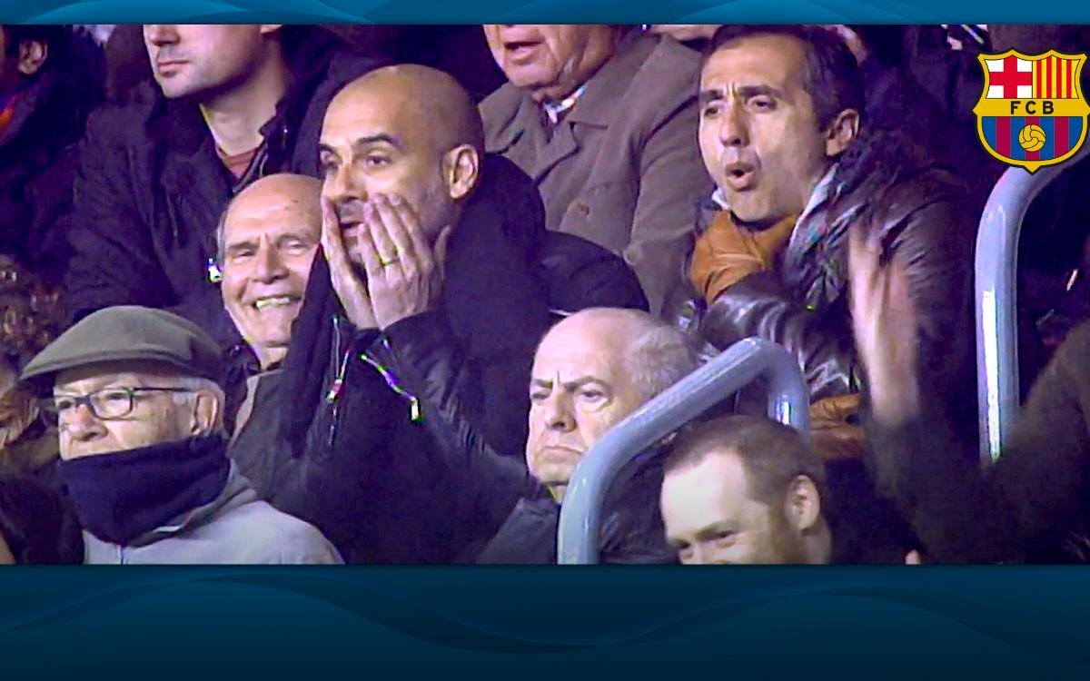 The day Pep Guardiola couldn't believe his own eyes