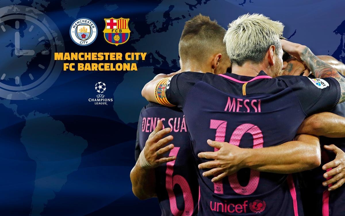 Quan i on es pot veure el Manchester City - FC Barcelona