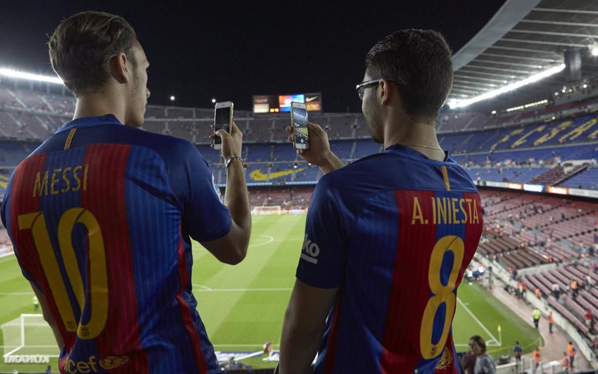 Nova wifi i nova app per als socis del FC Barcelona