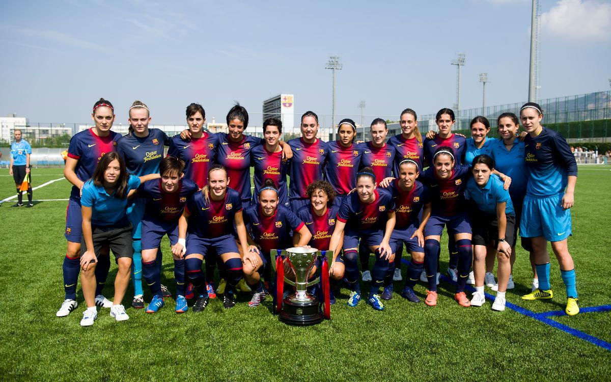 Les anteriors estrenes a casa del Barça Femení