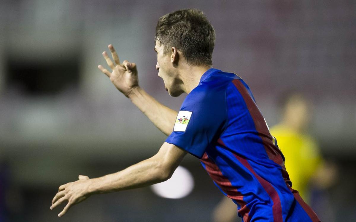 Los goleadores del Barça B