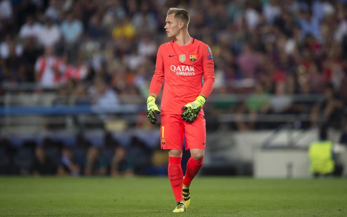 Marc-André ter Stegen llega a los 50 partidos oficiales con el FC Barcelona