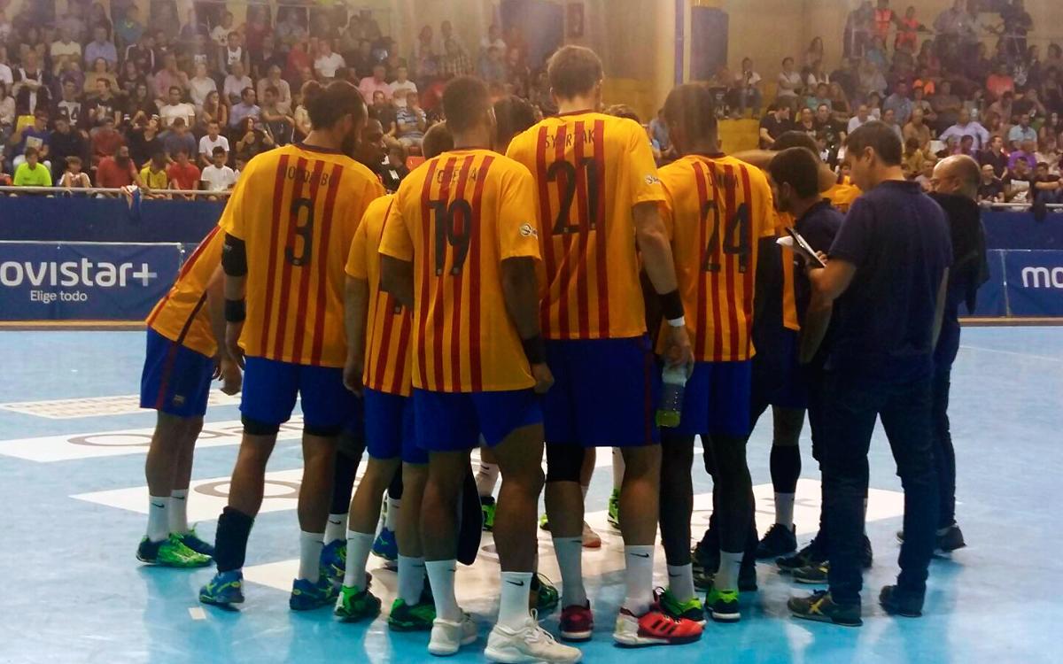 BM Guadalajara v FC Barcelona Lassa: Nobody said it was easy (25-34)