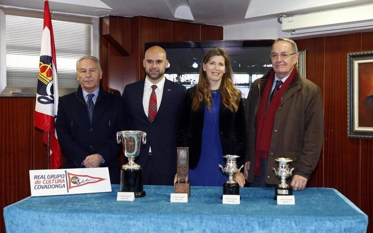 Asturias and Cantabria Supporters Clubs celebrate their first meeting