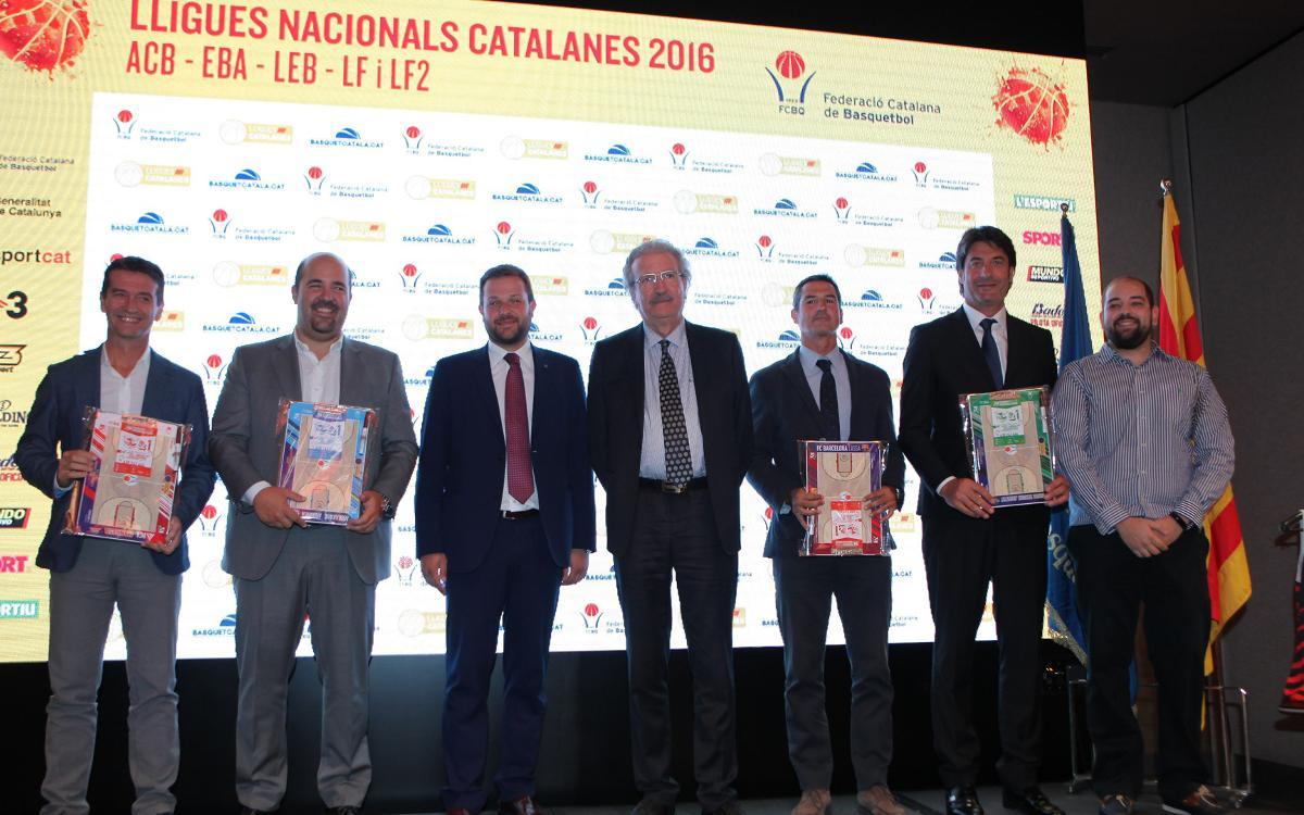 El FC Barcelona, presente en la Lliga Catalana