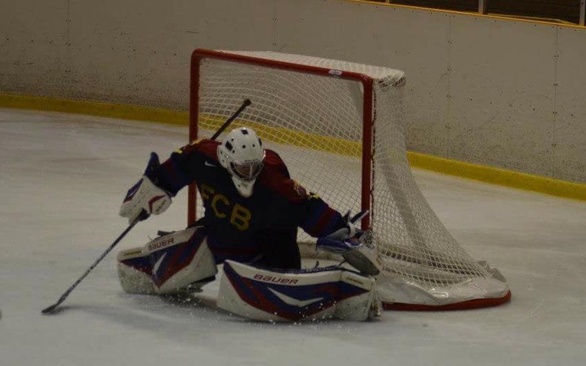 El Barça de hockey hielo inicia la temporada con una derrota ante el Txuri Urdin (3-1)