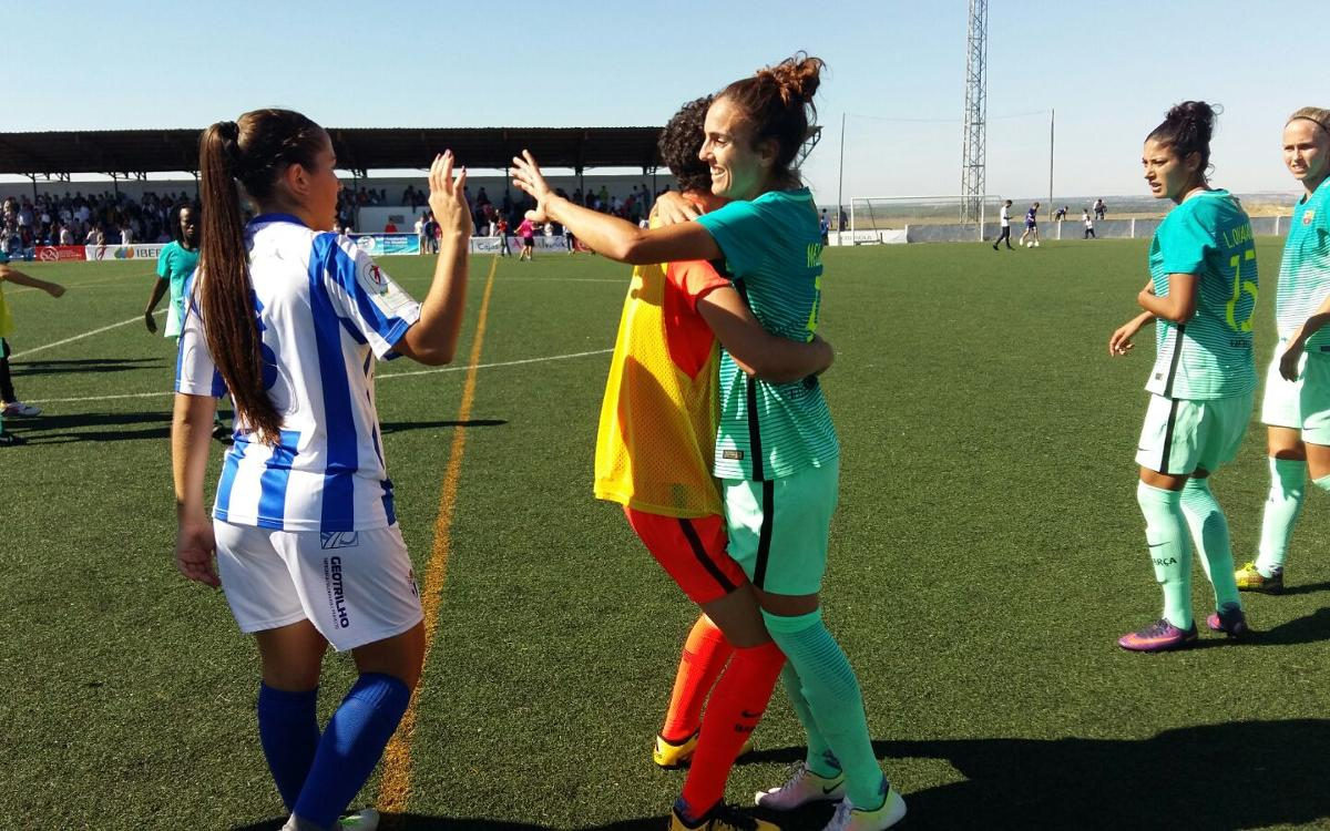 Sporting Huelva v FC Barcelona Women: Seventh heaven (0-1)