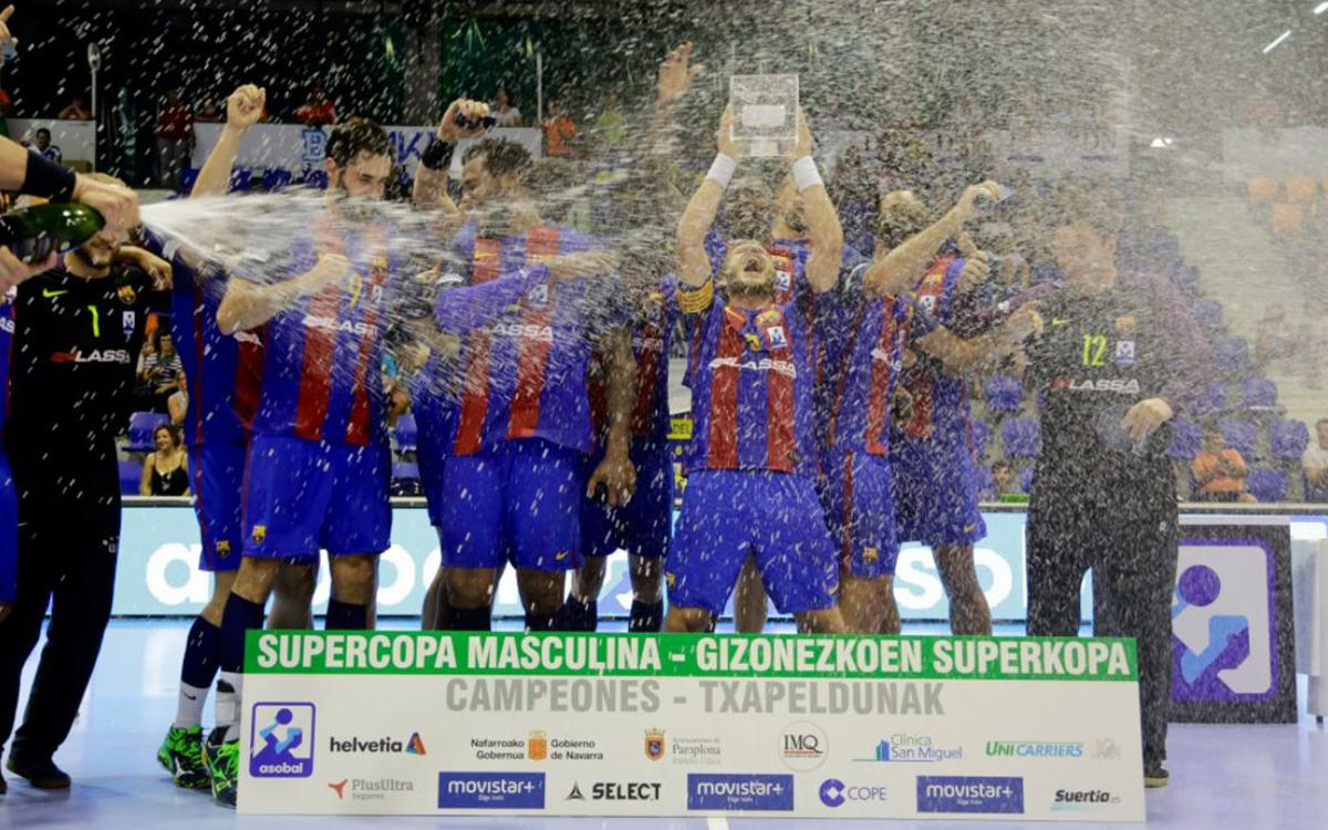 Decimonovena Supercopa Asobal del FC Barcelona