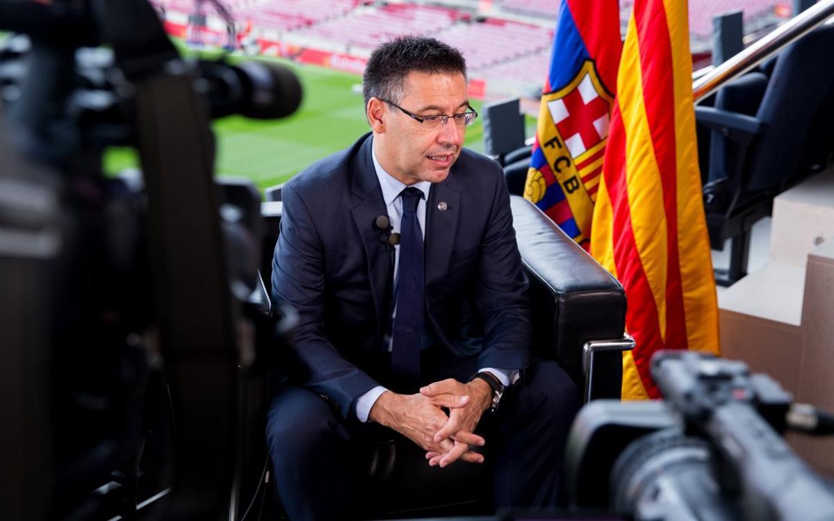 Bartomeu explica a Harvard el Barça global