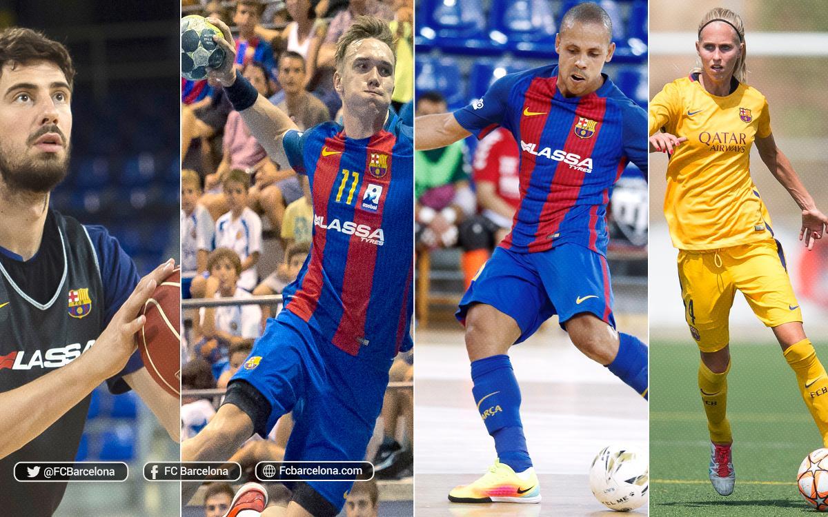 L'agenda del FC Barcelona per a aquest cap de setmana