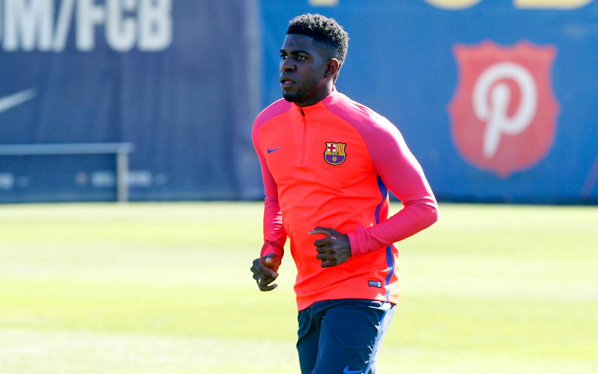 Umtiti to miss Atlético match due to injury