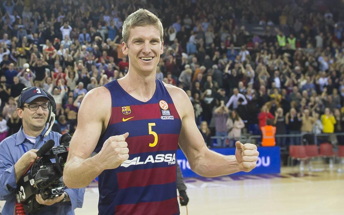 Justin Doellman, de vuelta a Barcelona