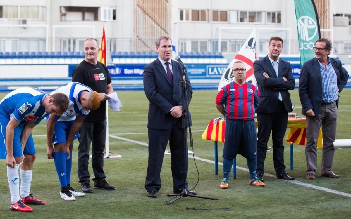 El Barça da su apoyo al Trofeo Sin Límites