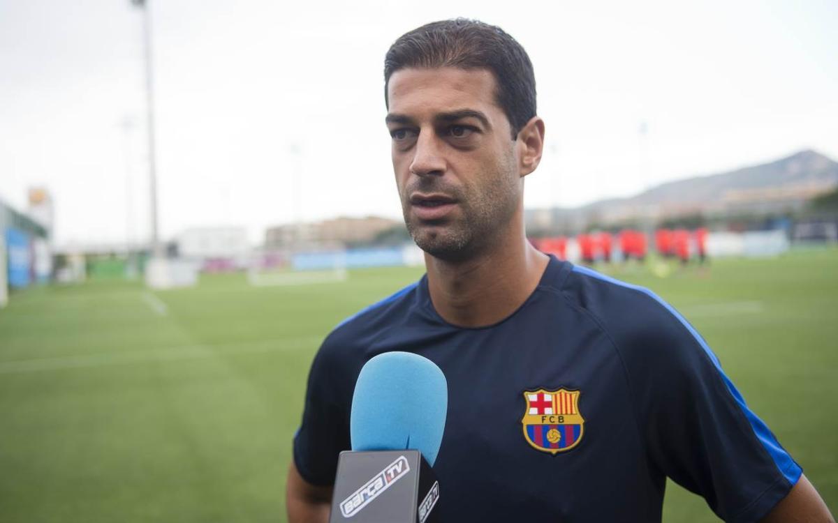"""Gerard López: """"L'experiència de l'any passat pot ser bona, l'Alcoià és un equip amb molt amor propi"""""""