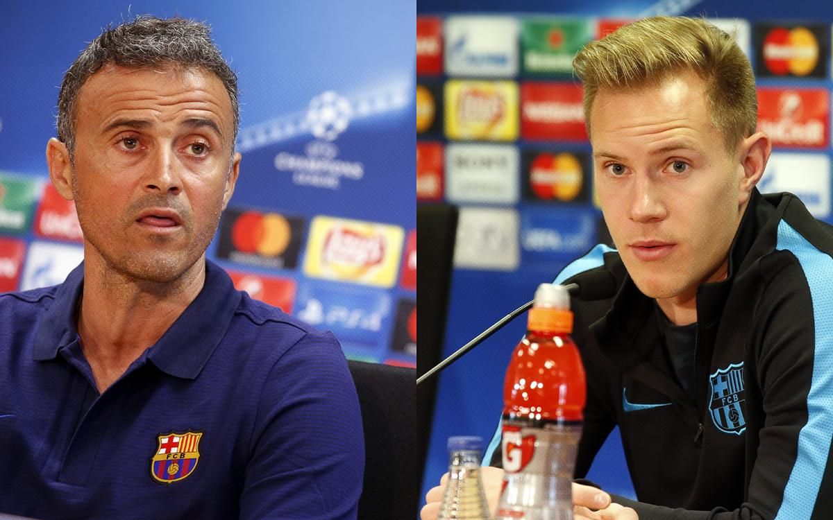 LIVE - Luis Enrique and Ter Stegen press conference