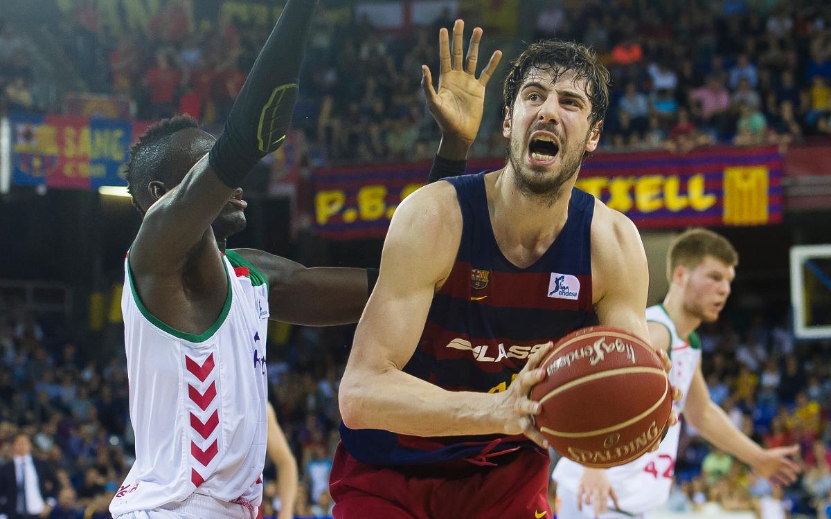 FC Barcelona Lassa - Baskonia: Se estrena la Liga en el Palau con un plato fuerte