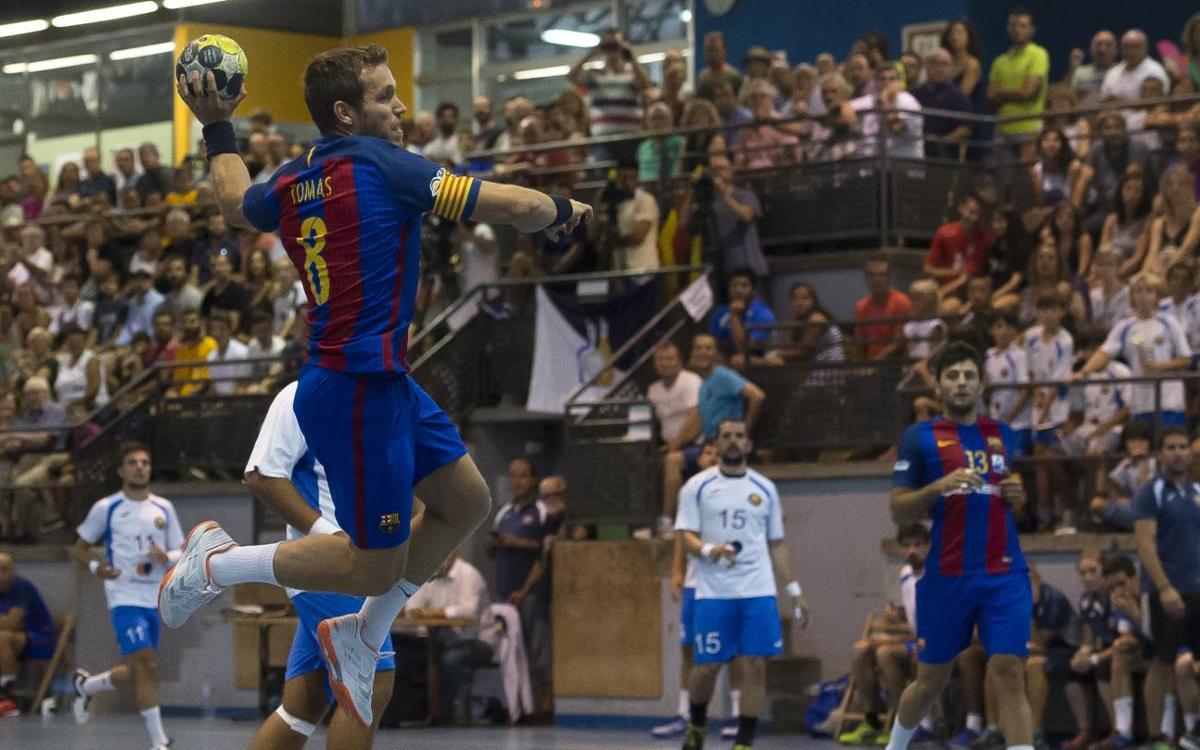 Anaitasuna v FC Barcelona Lassa: Asobal Super Cup champions (30-38)