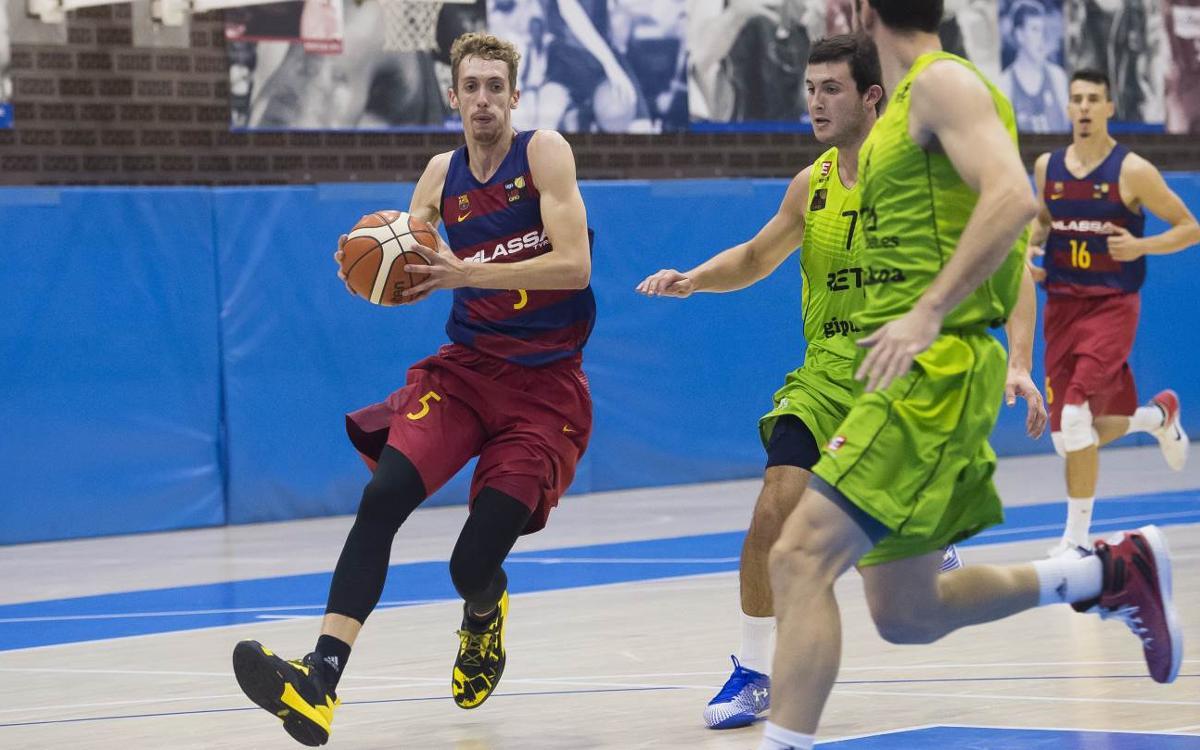 FC Barcelona Lassa B - RETAbet.es Gipuzkoa: La lucha del filial se queda sin premio (55-63)
