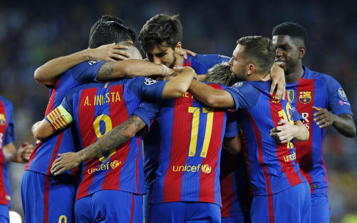 FC Barcelona's record European win, by the numbers