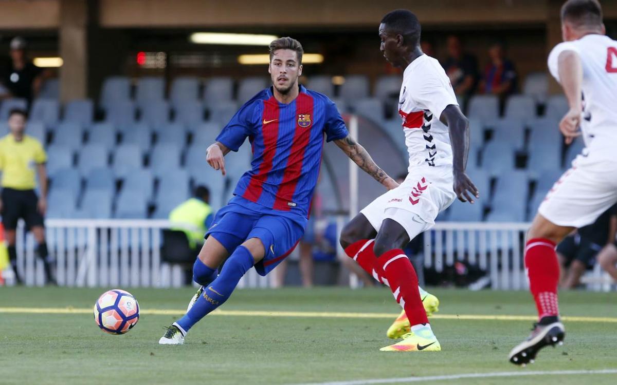 Barça B - Nàstic de Tarragona: Derrota por la mínima para cerrar la pretemporada (0-1)