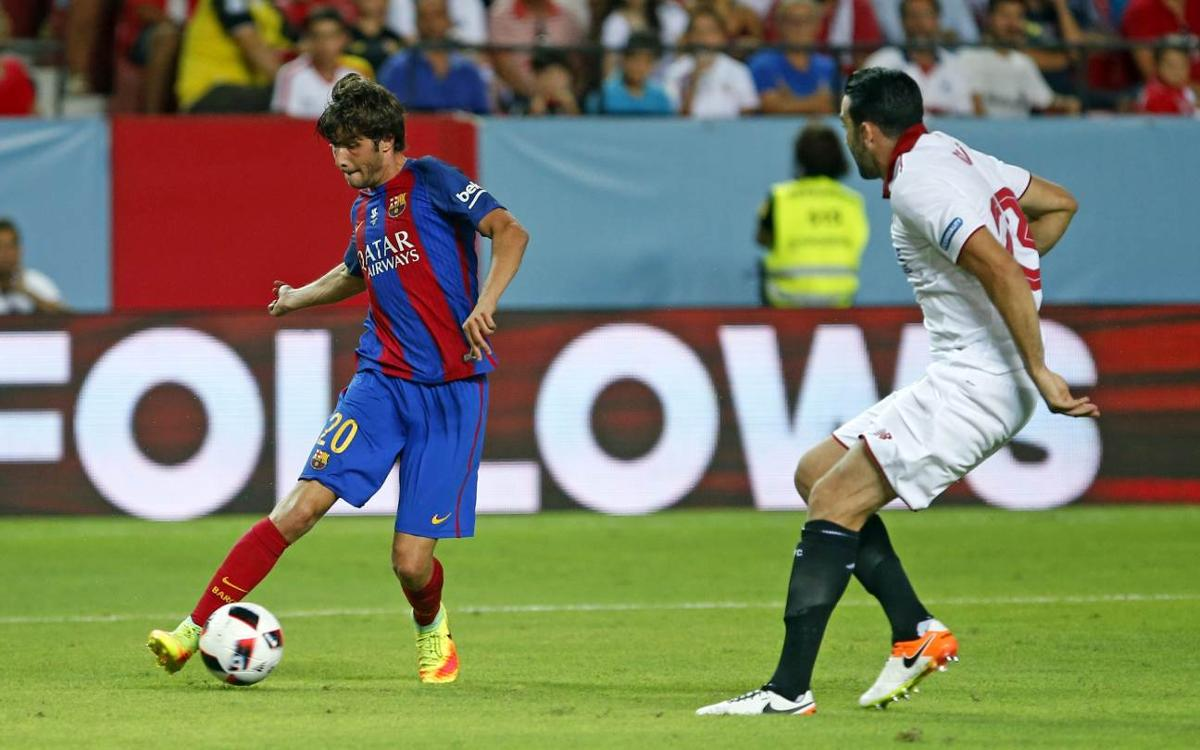 Sergi Roberto opens account in Spain win