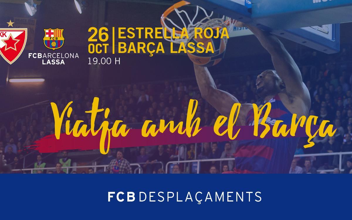 Viatge a Belgrad per animar l'equip de bàsquet a l'Eurolliga