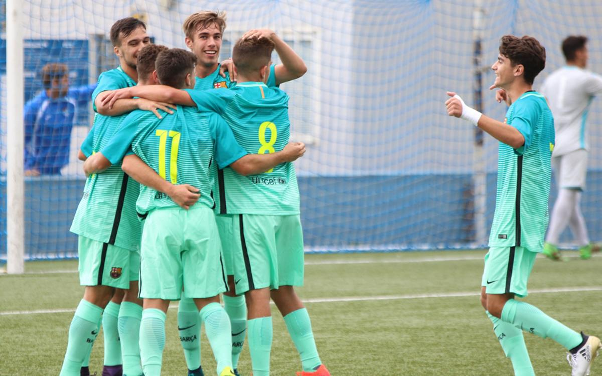 Girona v FC Barcelona U19: Ninth straight league success (0-1)