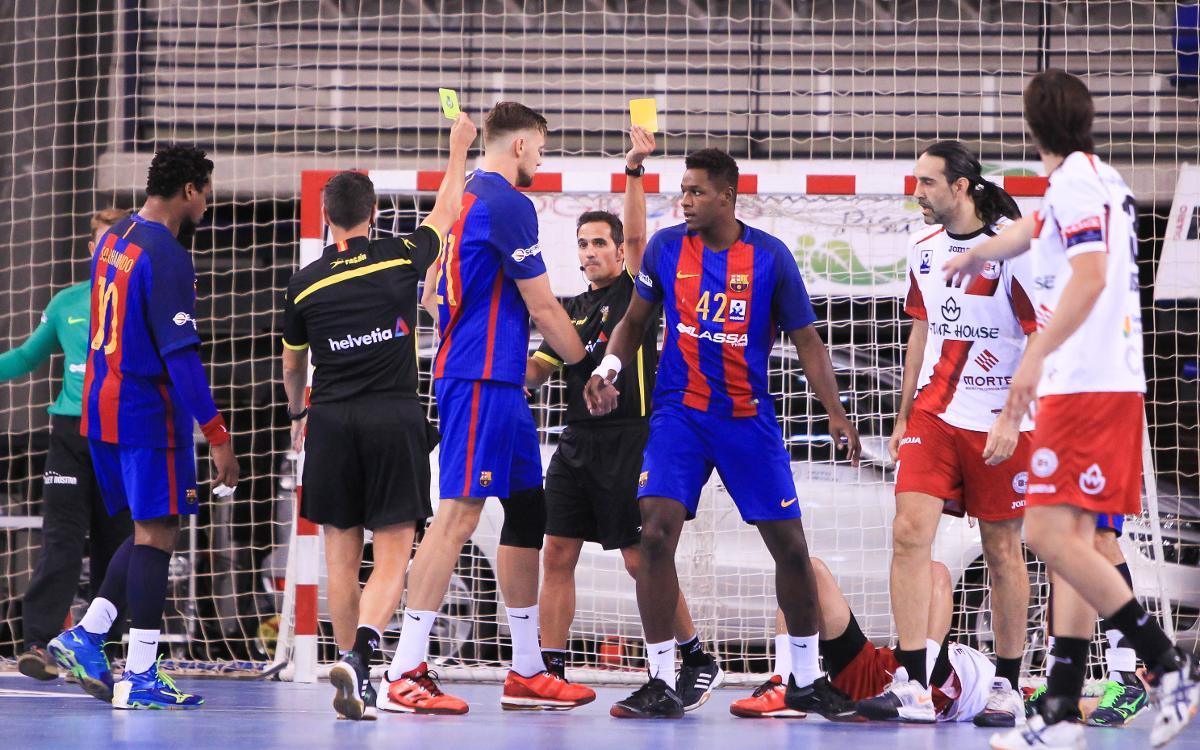 Naturhouse La Rioja - FC Barcelona: Esfuerzo extra para sumar un nuevo triunfo (22-24)