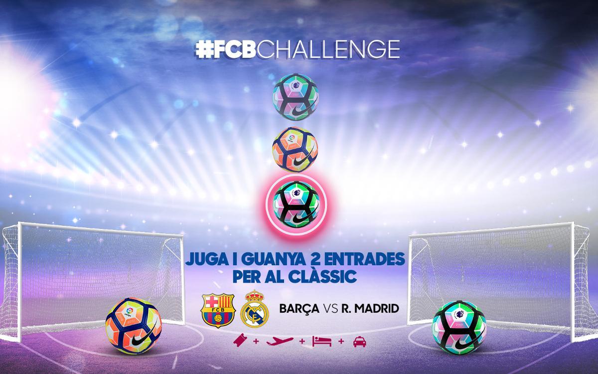El FC Barcelona llança un concurs per assistir al Clàssic del desembre