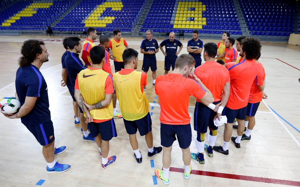 El nou Barça Lassa s'estrena al Palau