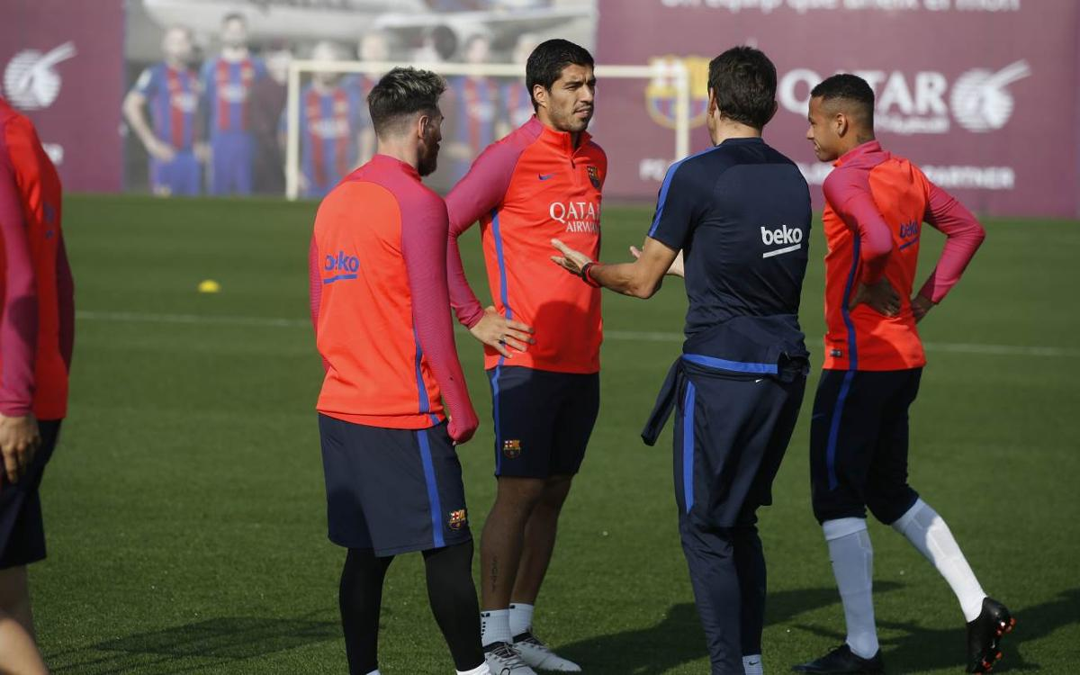 FC Barcelona are ready for their match against Granada