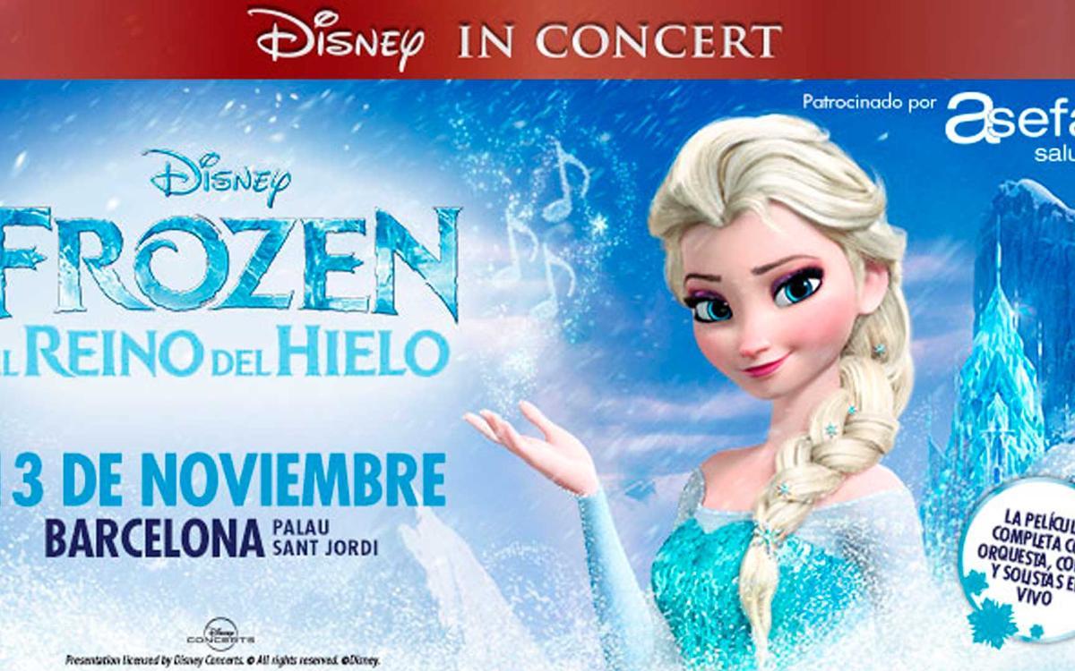 'Disney In Concert: Frozen, el Reino del Hielo' al Palau Sant Jordi amb descompte per a socis