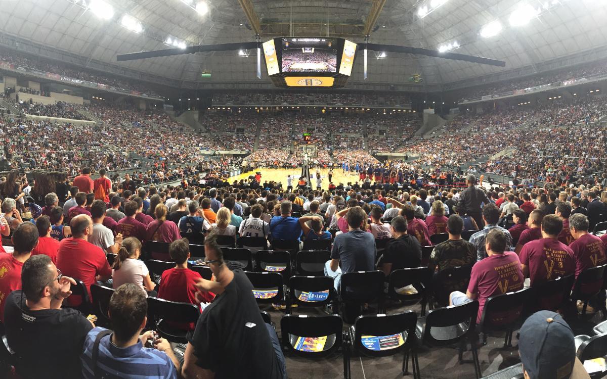 La NBA s'invite au Palau Sant Jordi contre le Barça pour une nuit magique