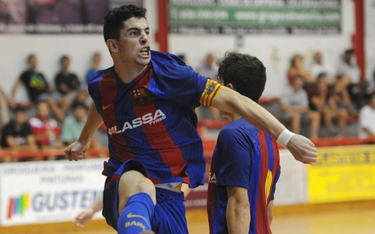 El Juvenil s'estrena amb victòria a la Lliga (2-8)