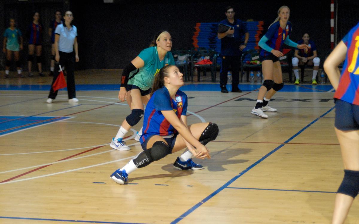 Debut con triunfo en la Superliga Femenina de Voleibol