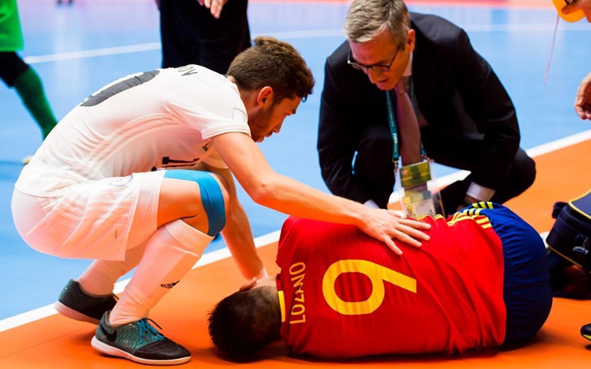 Lozano vuelve a Barcelona y pasará por el quirófano
