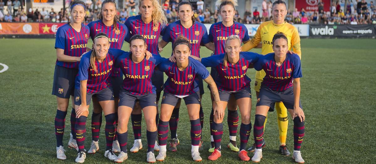 Women in barcelona