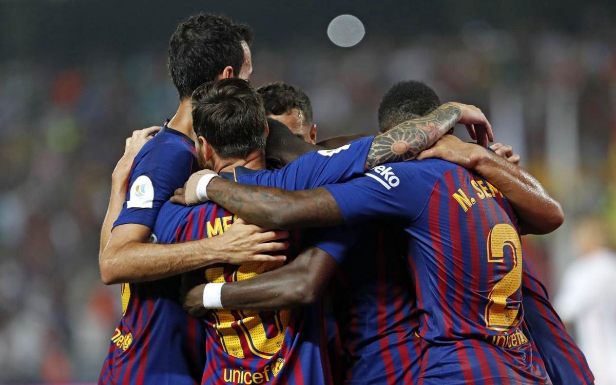 Sevilla FC - FC Barcelona: ¡La Supercopa es azulgrana! (1-2)